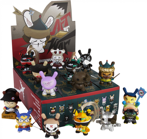 "Dunny: The Art of War - 3"" Dunny Mystery Mini Figures: Case of 20 Blind Boxes"