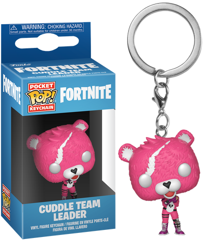 Fortnite - Cuddle Team Leader Pocket Pop! Vinyl Keychain - Pre-Order