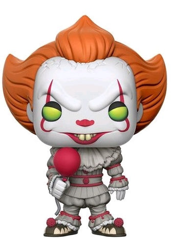 It (2017) - Pennywise with Balloon US Exclusive Pop! Vinyl Figure