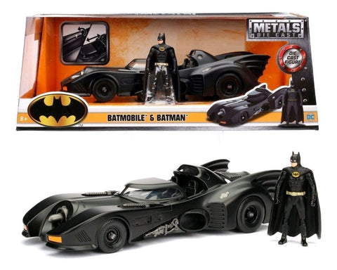 Batman - 1989 Batmobile with Batman 1:24 Scale