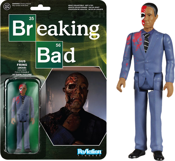 Breaking Bad - Dead Gustavo Fring ReAction Figure - SDCC Exclusive