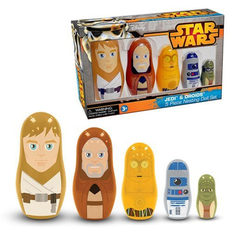 Star Wars - Jedi & Droids Nesting Doll Set