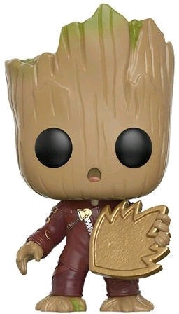Guardians of the Galaxy: Vol 2 - Baby Groot Ravager with Patch Pop! Vinyl Figure