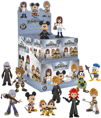 Kingdom Hearts - Hot Topic Exclusive Mystery Mini Blind Box Case of 12 Figures