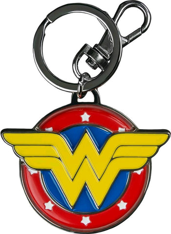 Wonder Woman - Shield Metal Keychain