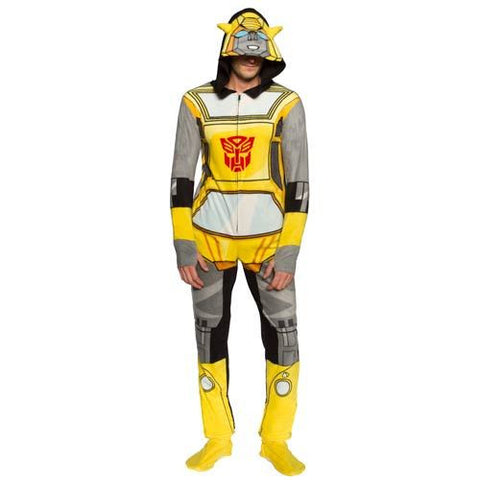 Transformers - Bumblebee Hooded Onesie with Removable Feet