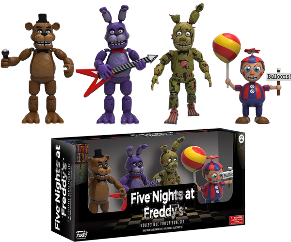 Five Nights at Freddy's - Vinyl Figure Set #2 (4 Figures)