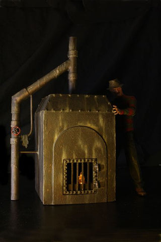 A Nightmare on Elm Street - Freddy Krueger's Furnace Diorama - Pre-Order