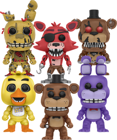 Five Nights At Freddy's - Pop! Vinyl Bundle of 6 - Pre-Order