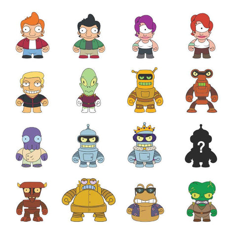 "Futurama - Universe X 3"" Mystery Mini Figures: Case of 24 Blind Boxes - Pre-Order"