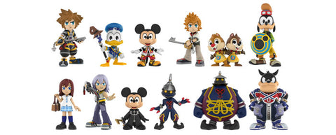 Kingdom Hearts - Gamestop Exclusive Mystery Mini Blind Box Case of 12 Figures - Pre-Order