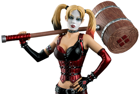 Batman: Arkham City - Harley Quinn with Mallet Limited Edition 1/6 Scale Statue  - Pre-Order
