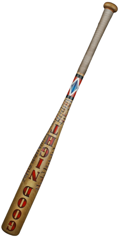 "Suicide Squad - Harley Quinn's ""Good Night' Baseball Bat Replica"