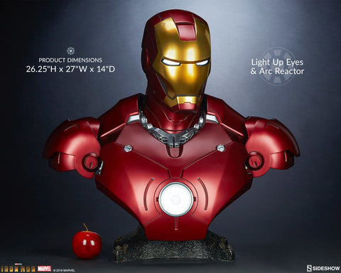 Iron Man - Mark III Life-Size Bust - Pre-Order