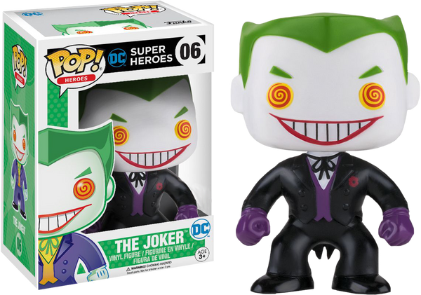Batman - Joker Classic Black Suit Pop! Vinyl Figure