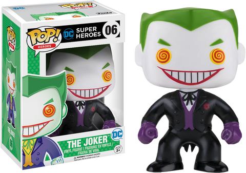 Batman - Joker Classic Black Suit US Exclusive Pop! Vinyl Figure