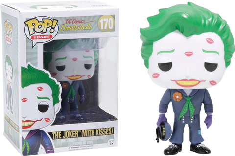 Batman - DC Bombshells Joker with Kisses Pop! Vinyl Figure