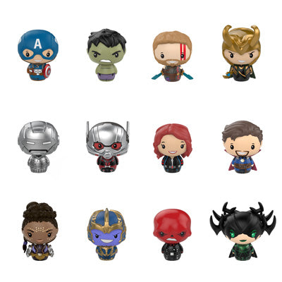 Marvel Studios - Pint Size Heroes Vinyl Figures: Case Of 12 Blind Bags - Pre-Order