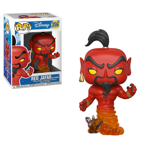 Aladdin - Red Jafar as Genie Pop! Vinyl Figure: Case of 6 with A Chase