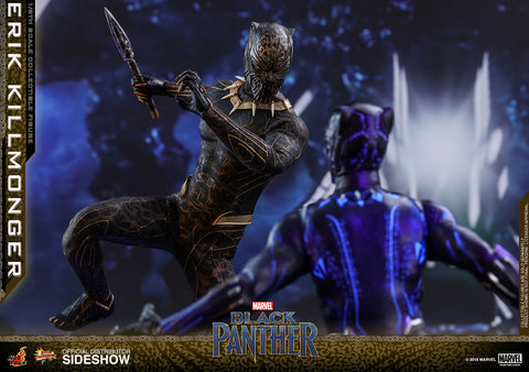 "Black Panther - Erik Killmonger 12"" 1:6 Scale Action Figure - Pre-Order"