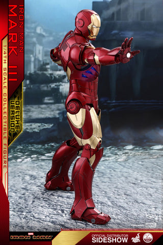 Iron Man - Mark III Deluxe 1:4 Scale Action Figure - Pre-Order