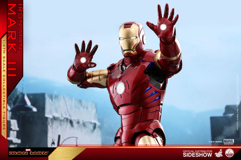 Iron Man - Mark III 1:4 Scale Action Figure - Pre-Order