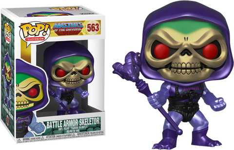 Masters of the Universe - Skeletor Battle Armor Metallic Pop! Vinyl Figure - Pre-Order