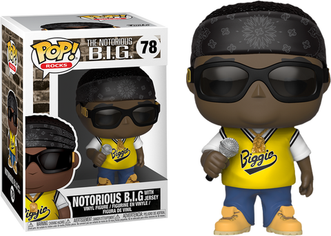 Biggie Bundle - 6 Pack Bundle of Pop! Vinyl Figures including NYCC Biggie with Crown & Glasses - Pre-Order