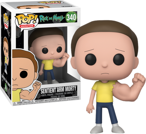 Rick and Morty - Sentinent Arm Morty Pop! Vinyl Figure: Case of 6 with A Chase - Pre-Order