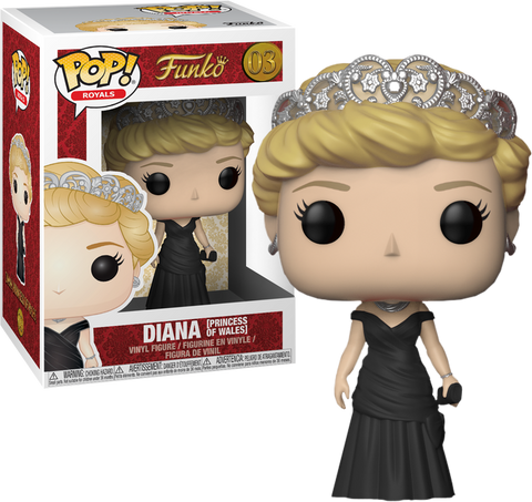 The Royal Family - Princess Diana Pop! Vinyl Figure: Case of 6 with A Chase - Pre-Order
