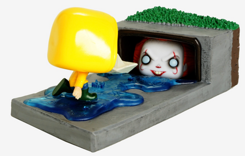 It (2017) - Pennywise in Gutter Movie Moments Pop! Vinyl Figure - Pre-Order