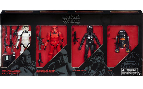 Star Wars - The Black Series: Imperial Forces 6-Inch Action Figure Box Set - Entertainment Earth Exclusive