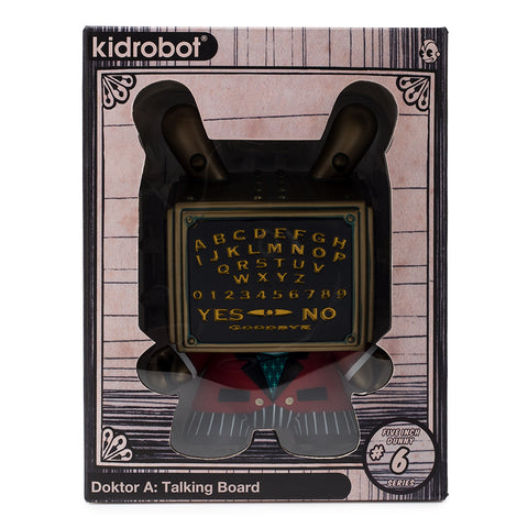 "Dunny - Talking Board 5"" Dunny Vinyl Figure by Doktor A"