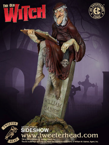 EC Comics Ghoulunatics - The Old Witch Maquette Statue - Pre-Order
