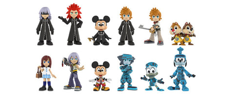 Kingdom Hearts - Toys R Us Exclusive Mystery Mini Blind Box Case of 12 Figures