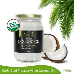 100% Cold Pressed Virgin Coconut Oil