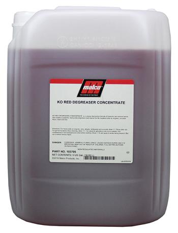 Malco KO Red Degreaser Concentrate (5-gal)