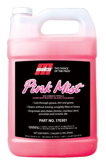 Malco Pink Mist™ Concentrate Glass Cleaner