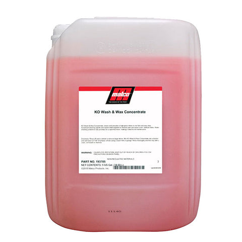 Malco KO Wash & Wax 5-Gallon