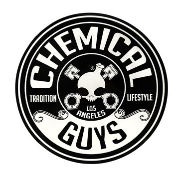 Sticker: Chemical Guys Logo Sticker, Circle 5 Inch
