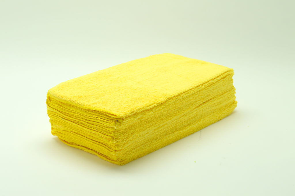 Micro Fiber Towel, Gold, 16x16, 36pack