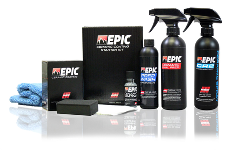 Malco EPIC™ Ceramic Coating Starter Kit W/ CR2 Ceramic Spray
