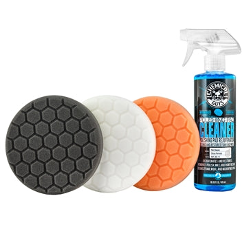 "Chemical Guys Hex-Logic 6"" Foam Pads"