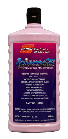 Malco Rejuvenator™ One-Step Auto Paint Restoration