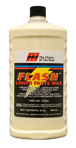 Malco Flash™ Liquid Paste Wax