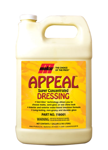 Malco Appeal™ Super Concentrated Dressing