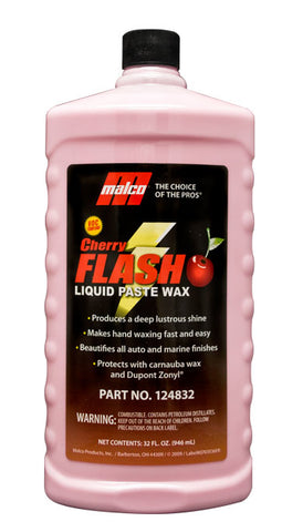 Malco Cherry Flash® Liquid Paste Wax