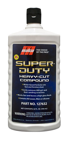 Malco Super-Duty Heavy-Cut Compound