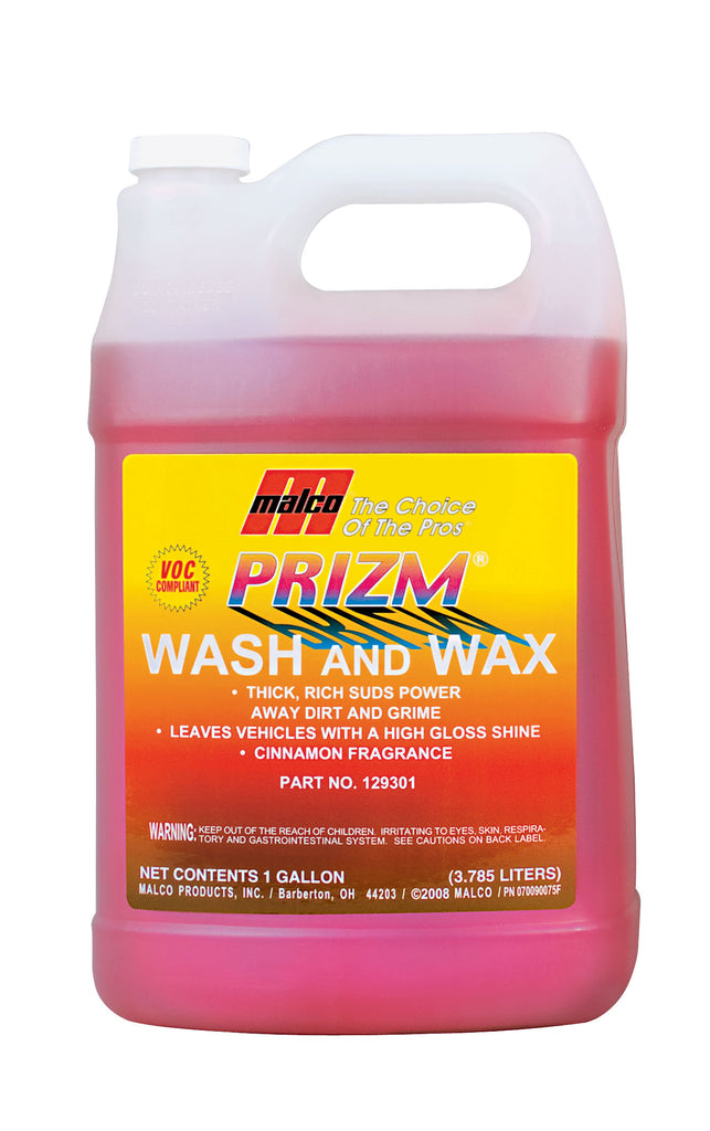 Malco Prizm Wash and Wax