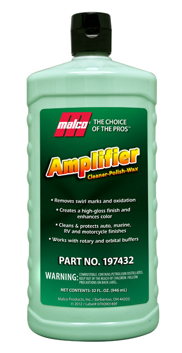 Malco Amplifier Cleaner-Polish-Wax